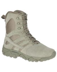 """Merrell - Moab 2 8"""" Tactical Defense Boot Wide Width - Lyst"""