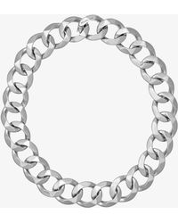 Michael Kors - Silver-tone Chain-link Choker - Lyst