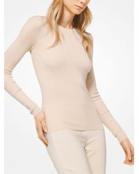 Michael Kors - Featherweight Cashmere Pullover - Lyst