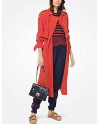 Michael Kors - Draped Trench Coat - Lyst