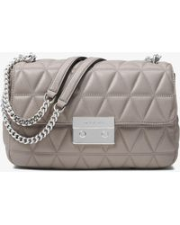 a36edb64466f Lyst - Michael Kors Michael Sloan Small Chain-strap Shoulder Bag in ...