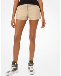 Michael Kors - Short in cotone stretch - Lyst