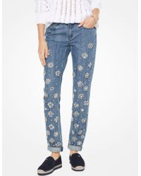 Michael Kors - Embellished Jeans - Lyst