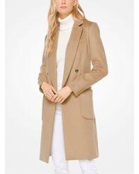 Michael Kors - Wool-blend Officer's Coat - Lyst