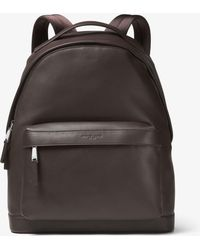 Michael Kors - Odin Leather Backpack - Lyst