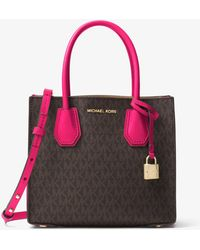 Michael Kors - Mercer Logo Crossbody - Lyst