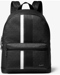 aed12ad88132 Michael Kors - Cooper Logo Stripe Backpack - Lyst