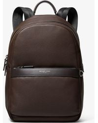 Michael Kors - Greyson Pebbled Leather Backpack - Lyst