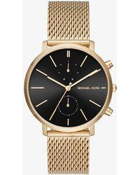 Michael Kors - Jaryn Gold-tone Watch - Lyst