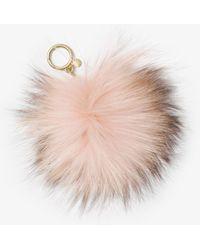 Michael Kors - Fur Key Chain - Lyst