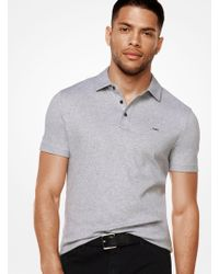 Michael Kors - Cotton Polo Shirt - Lyst