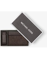 Michael Kors - Money-clip Card Case - Lyst