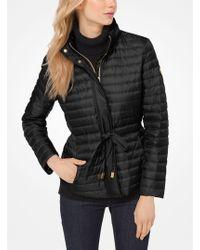 Michael Kors - Packable Nylon Puffer Jacket - Lyst