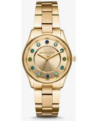 Michael Kors - Colette Gold-tone Watch - Lyst