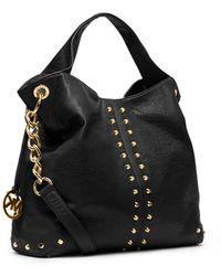 Michael Kors - Astor Leather Shoulder Bag - Lyst 015dee9b382d