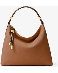 Michael Kors - Skorpios Large Leather Shoulder Bag - Lyst