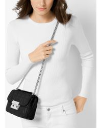 Michael Kors | Sloan Small Quilted-leather Shoulder Bag | Lyst