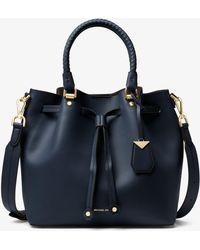 Michael Kors - Blakely Leather Bucket Bag - Lyst