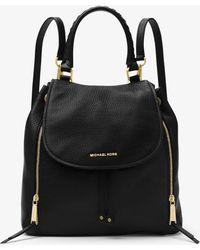 Michael Kors - Viv Large Leather Backpack - Lyst