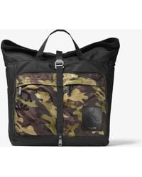 Michael Kors - Kent Convertible Camouflage Backpack - Lyst
