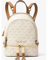Michael Kors Rhea Mini Logo Backpack - Multicolour