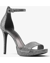 Michael Kors - Hutton Chain-mesh Sandal - Lyst