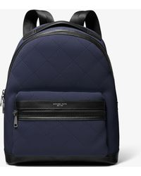 Michael Kors - Quilted Backpack - Lyst