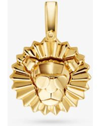 Michael Kors - 14k Gold-plated Sterling Silver Rory Charm - Lyst