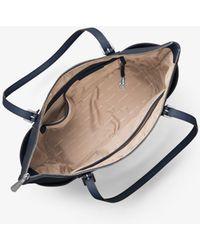Michael Kors - Jet Set Large Top-zip Saffiano Leather Tote - Lyst