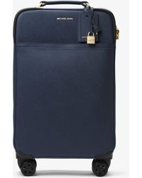 Michael Kors - Large Saffiano Leather Suitcase - Lyst