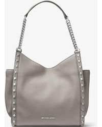 Michael Kors - Newbury Medium Pebbled Leather Tote - Lyst