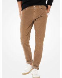 Michael Kors - Parker Slim-fit Corduroy Pants - Lyst