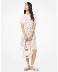 MICHAEL Michael Kors Butterfly Appliqué Lace Dress