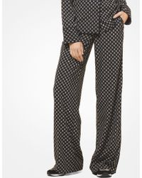 Michael Kors - Studded Medallion Pajama Pants - Lyst