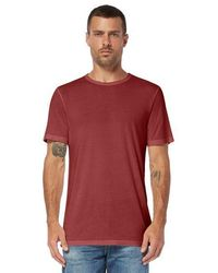 82231dff0e1 Lyst - TOPMAN Bamboo Print T-shirt in Blue for Men