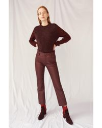 M.i.h Jeans - Daily Leather Pant - Lyst