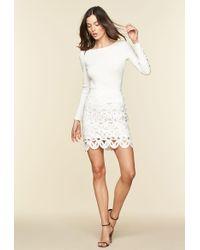 086d4376e MILLY Matchstick Paillette Modern Mini Skirt - Lyst