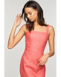 MILLY - Italian Linen Kerry Dress - Lyst
