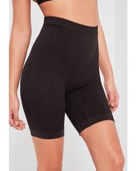 Missguided - Black High Control Super Smoothing Push Up Shapewear Shorts - Lyst