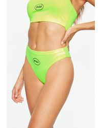 Missguided - Fanny Lyckman X Neon Yellow Panties - Lyst