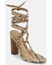 98c2cc3646d Lyst - Missguided Red Velvet Studded Gladiator Sandals in Red