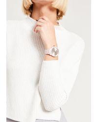 Missguided - White Matte Bracelet Watch - Lyst