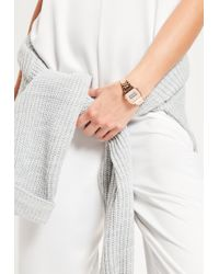 Missguided - Rose Gold Digital Watch - Lyst