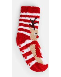 Missguided - Chenille Reindeer Socks Gift Box - Lyst