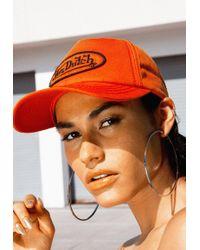 Missguided - Von Dutch Pink Baseball Cap - Lyst