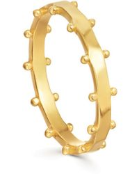 Missoma - Lucy Williams Armour Ring - Lyst
