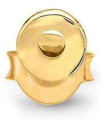 Missoma - Gold Single O Stud - Lyst