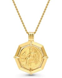 Missoma - Lucy Williams X Octagon Medallion Necklace - Lyst