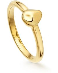 Missoma - Gold Nugget Ring - Lyst