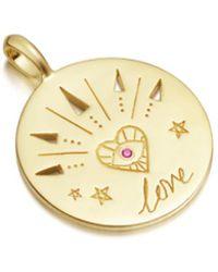 Missoma - Love Amulet Pendant - Lyst
